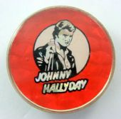 Johnny Hallyday - 'Johnny Red' Prismatic Crystal Badge